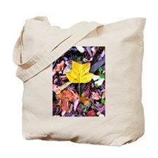Cute Falling leaf Tote Bag
