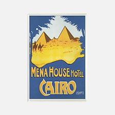 Cairo Egypt Rectangle Magnet