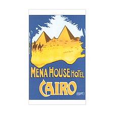Cairo Egypt Rectangle Decal