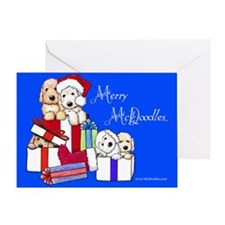 Merry McDoodles Greeting Card