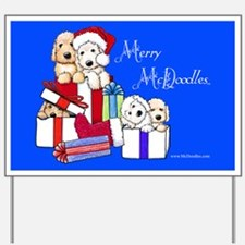 Merry McDoodles Yard Sign