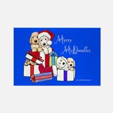 Merry McDoodles Rectangle Magnet