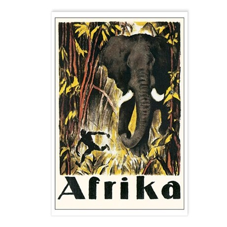 Africa Postcards (Package of 8)