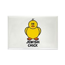 Jewish Chick Rectangle Magnet