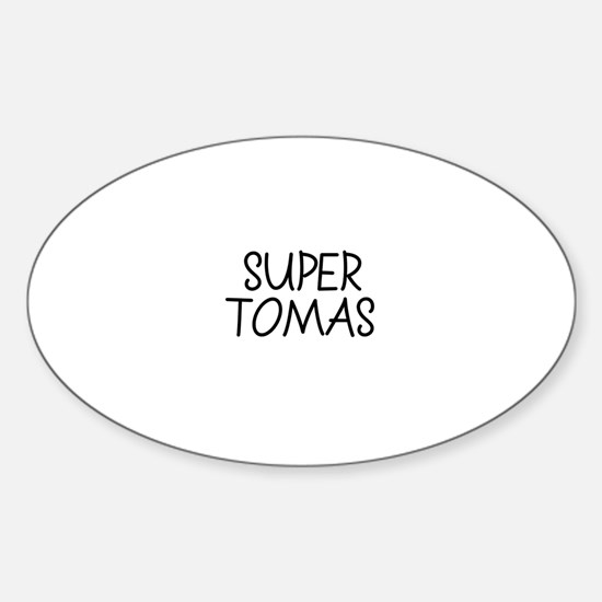 Super Tomas Oval Decal
