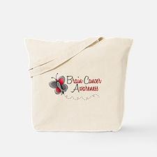 BraC Awareness 1 Butterfly 2 Tote Bag