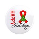 Happy Holidays Red Ribbon 3.5