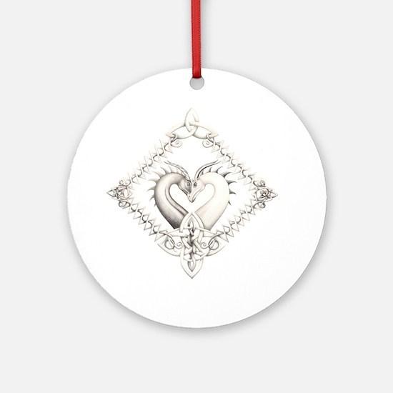 Dragon Heart Ornament (Round)