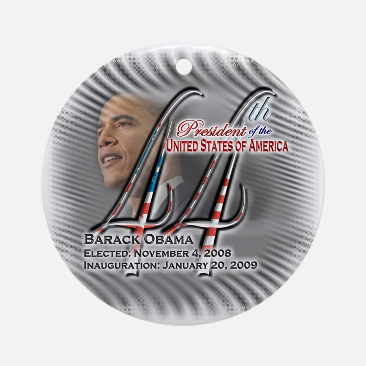 44th President - Ornament (Round)