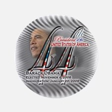 """44th President - 3.5"""" Button (100 pack)"""