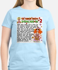 Twisted Sister Chicklist #2 T-Shirt