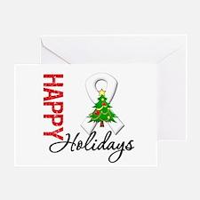 Pearl Ribbon Christmas Greeting Card