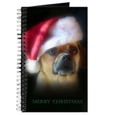 Puggle Christmas Gift Journal