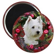 Warm Westie Wishes Magnet