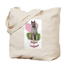 belgian laekenois heart Tote Bag