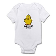 Buddhist Chick Infant Bodysuit
