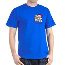 Holiday Pocket Doodle Duo T-Shirt
