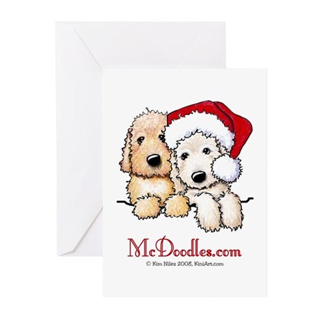 Holiday Pocket Doodle Duo Greeting Cards (Pk of 10