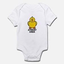 Atheist Chick Infant Bodysuit