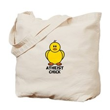 Atheist Chick Tote Bag