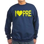 I *heart* PRE Sweatshirt (dark)
