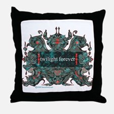 Twilight Forever Throw Pillow