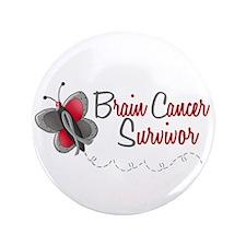 """BraC Survivor 1 Butterfly 2 3.5"""" Button"""