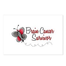 BraC Survivor 1 Butterfly 2 Postcards (Package of