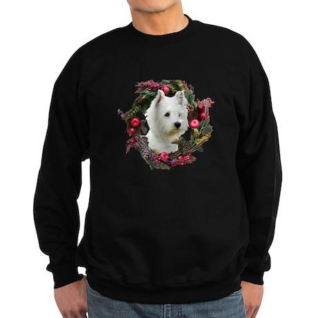 Warm Westie Wishes Sweatshirt (dark)