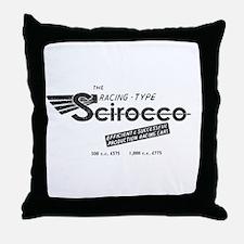 Scirocco Racing Throw Pillow