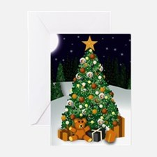Bear Christmas Greeting Cards (Pk of 10)