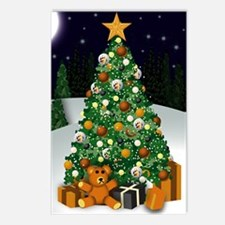 Bear Christmas Postcards (Package of 8)