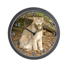 Canadian Lynx Wall Clock