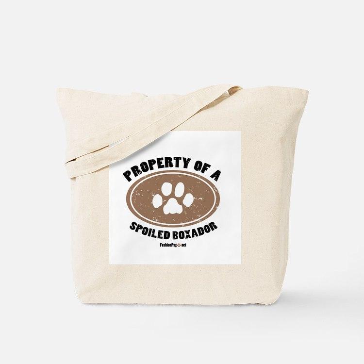 Property of A Boxador Tote Bag