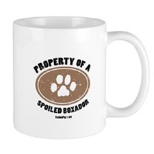 Property of A Boxador Mug