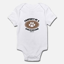 Property of A Boxador Infant Bodysuit