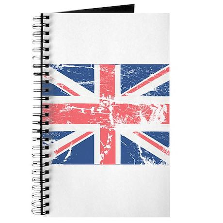 Worn and Vintage British Flag Journal