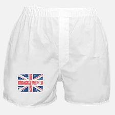 Worn and Vintage British Flag Boxer Shorts