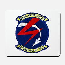 Strike Aircraft Test Center Mousepad