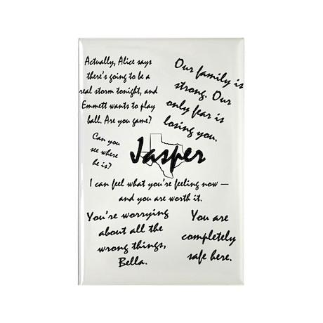 Jasper Quotes Rectangle Magnet (10 pack)