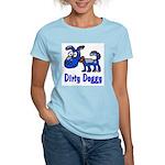 Dirty Blue Doggy Women's Light T-Shirt