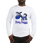Dirty Blue Doggy Long Sleeve T-Shirt