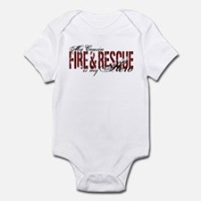 Cousin My Hero - Fire & Rescue Infant Bodysuit