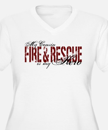 Cousin My Hero - Fire & Rescue T-Shirt