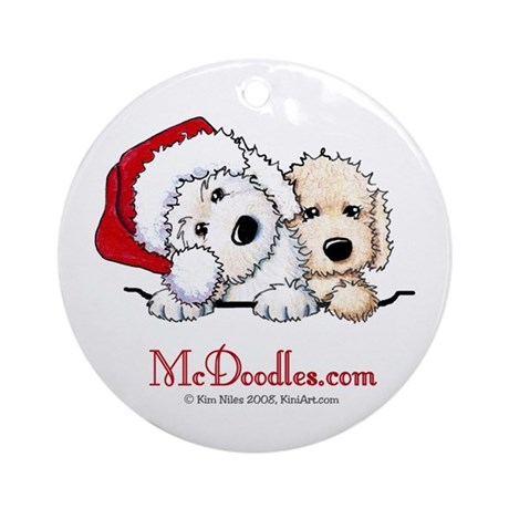McD Holiday Pocket Duo II Ornament (Round)