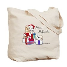 McD Holiday Pocket Duo II Tote Bag