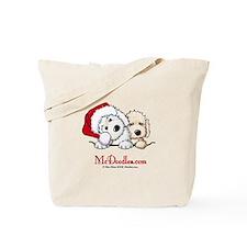 McD Holiday Pocket Duo II Tote Bag