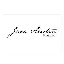 Jane Austen Fanatic Postcards (Package of 8)