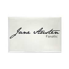 Jane Austen Fanatic Rectangle Magnet