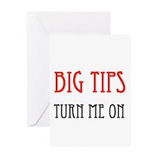 BIG TIPPER Greeting Card